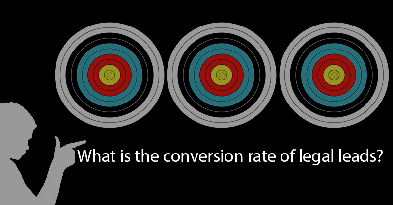 conversion rate of legal leads