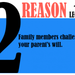Family members challenge your parent's will.