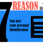 You lose your personal identification.