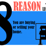 Your are buying or selling your home.