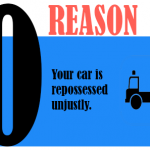 Your car is repossessed unjustly
