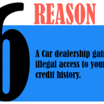 A car dealership gains illegal access to your credit history
