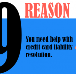 You need help with credit card liability resolution