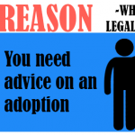 You need advice on an adoption