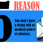 You don't have a living will or medical power of attorney