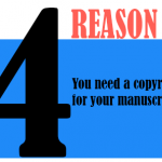you need a copyright for your manuscript.