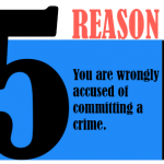 You are wrongly accused of committing a crime.