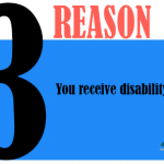You receive disability.